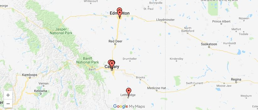 Asyma Locations