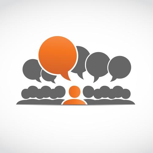 Conference thinking logo
