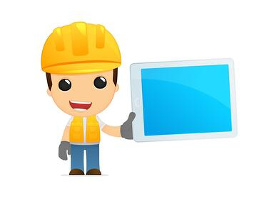 Construction Animation Guy