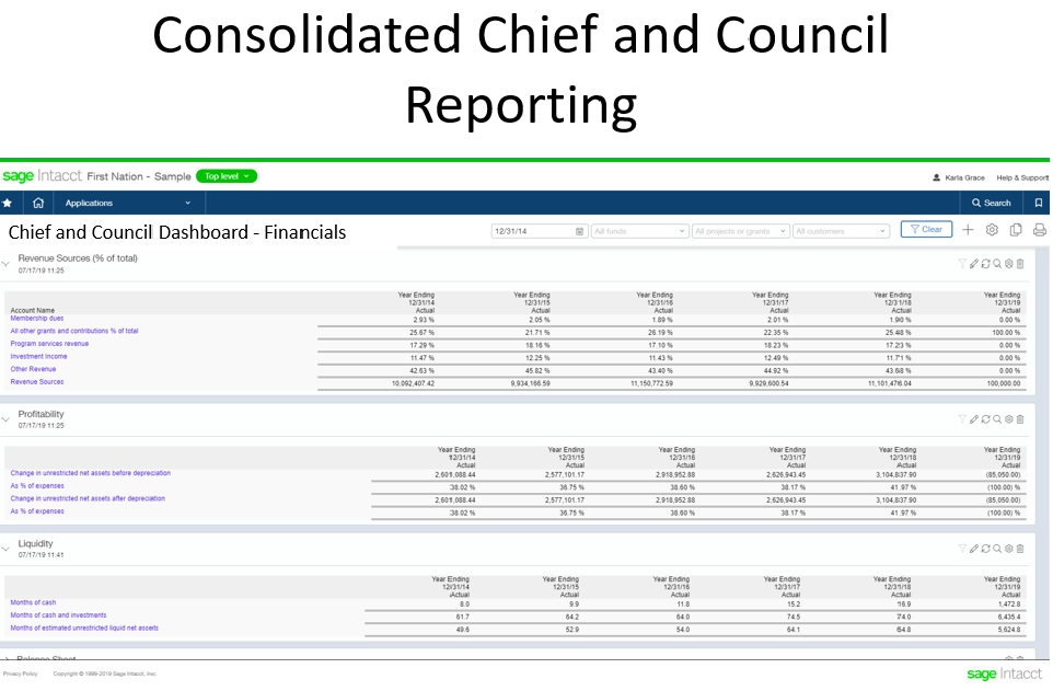 FN Consolidated Chief & Council Reporting