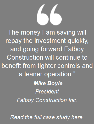 FatBoy Construction Quote 1